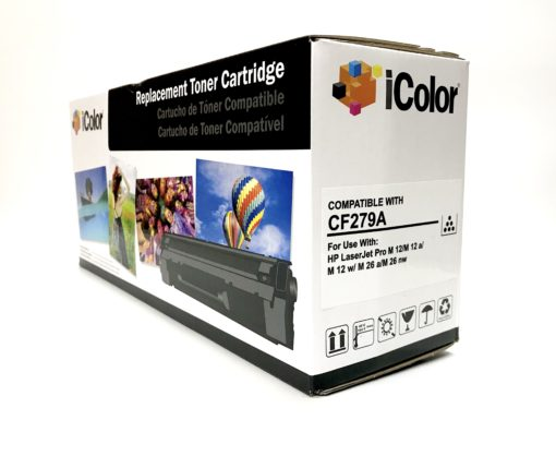 Cartucho de Toner Black para uso en HP LaserJet Pro M 26 MFP, M 12 (CF279A)