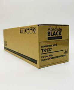 Cartucho de Toner para uso en Kyocera TK 137, KM 2820, 2810